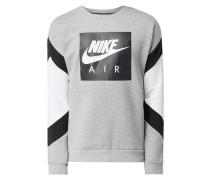 Standard Fit Sweatshirt mit Logo-Print