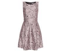 Kleid mit floralen Aufnähern
