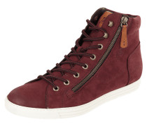 High Top Sneaker aus Leder