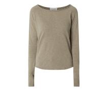 Shirt aus Baumwolle mit Raglanärmeln Modell 'Son31'