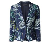 Blazer mit floralem Muster