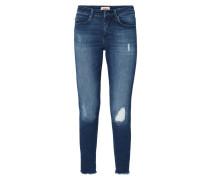 Skinny Fit Jeans im Used Look