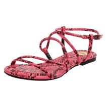 Sandalen in Snake-Optik Modell 'Jolita'