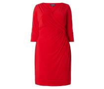 PLUS SIZE - Kleid mit drapierten Falten