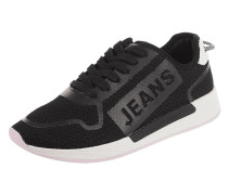Sneaker aus Textil in Strick-Optik