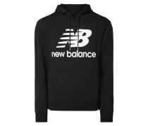 Relaxed Fit Hoodie mit Logo-Print