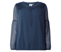 PLUS SIZE - Blusenshirt mit Stickereien