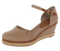 Sandalette aus Textil