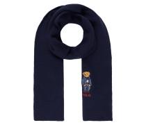 Schal mit Polo Bear-Stickerei