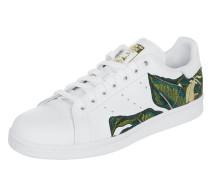 Sneaker 'Stan Smith' aus Leder mit Stickereien