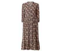 Kleid aus Viskosekrepp