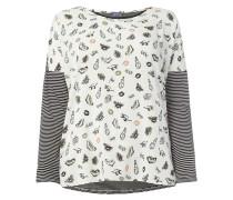 PLUS SIZE – Shirt mit Kontrastvorderseite