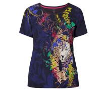T-Shirt mit exotischem Muster