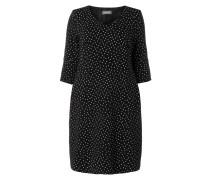 PLUS SIZE - Kleid mit Punktemuster