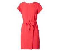 Kleid mit Gürtel zum Binden