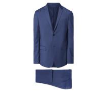 Fitted Anzug mit 2-Knopf-Sakko