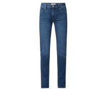 Slim Fit Jeans mit Stretch-Anteil Modell 'Betsy'