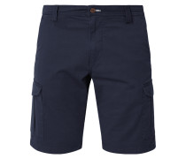 Relaxed Fit Cargoshorts mit Stretch-Anteil