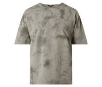 T-Shirt in Batik-Optik Modell 'Patrice'