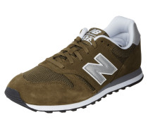 Sneaker '373' aus Veloursleder und Mesh