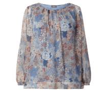 PLUS SIZE – Blusenshirt mit floralem Muster