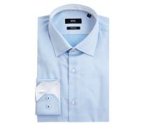 Regular Fit Business-Hemd aus Twill Modell 'Goran'