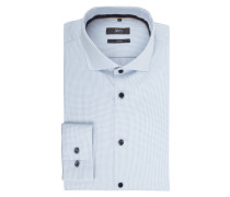 Slim Fit Business-Hemd mit extra langem Arm