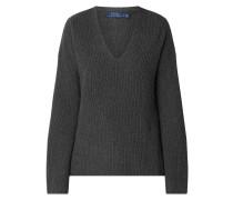 Oversized Pullover mit Kaschmir-Anteil
