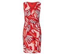 Kleid aus Mesh mit abstraktem Muster