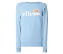 Sweatshirt mit Logo-Print Modell 'Succiso'