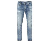 Regular Fit Jeans im Destroyed Look