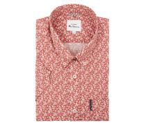 Regular Fit Freizeithemd aus Baumwolle mit kurzem Arm