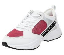 Sneaker mit Logo-Streifen