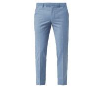 Super Slim Fit Anzug-Hose mit Stretch-Anteil