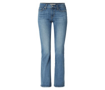 Stone Washed Shaping Bootcut Jeans