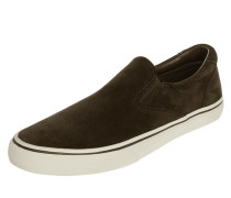 Slip-On Sneaker 'Thompson' aus Veloursleder