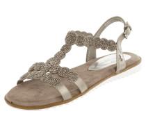 Sandalen mit Ziersteinbesatz