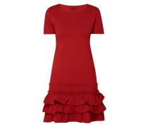 Kleid mit Saum im Stufen-Look