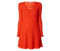 Kleid mit Ajourmuster