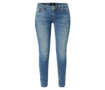 Stone Washed Super Slim Fit Jeans