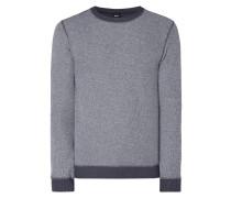 Sweatshirt im Inside-Out-Look