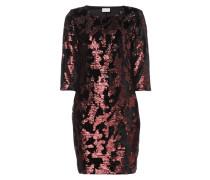 Kleid mit Camouflage-Muster aus Wende-Pailletten