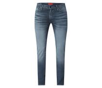 Jeans aus Baumwolle in schmaler Passform