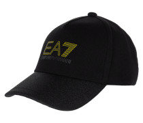 Basecap mit Logo-Print