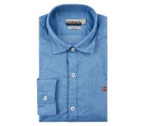 Slim Fit Freizeithemd aus Baumwolle Modell 'Gruaro'