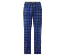 Pyjamahose mit Karomuster