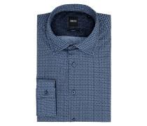 Slim Fit Freizeithemd aus Baumwolle Modell 'Mypop'