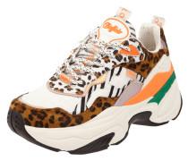 Chunky Sneaker mit Animal-Print Modell 'Crevis'