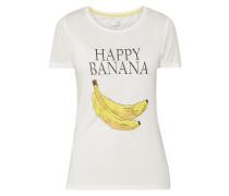 T-Shirt mit Print und Message