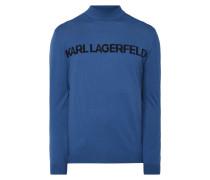 Pullover mit Logo-Schriftzug